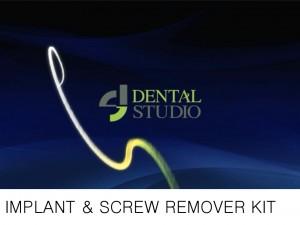 implant & screw remover kit