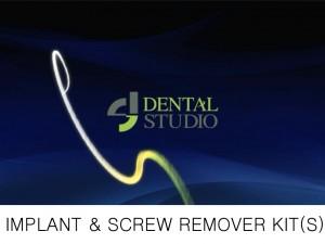 implant & screw remover kit S